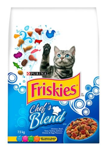Purina® Friskies® Chef's Blend Dry Cat Food, 7.5-kg Product image