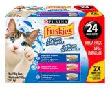 Assortiment de nourriture humide pour chats Purina Friskies Délices de l'océan, paq. 24 | Friskiesnull