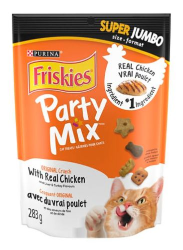 Friskies Party Mix Original Crunch Cat Treat, 283-g Product image