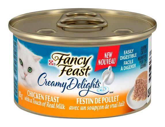 Fancy FeastCreamy Delights Grilled Chicken Cat Food, 85-g Product image