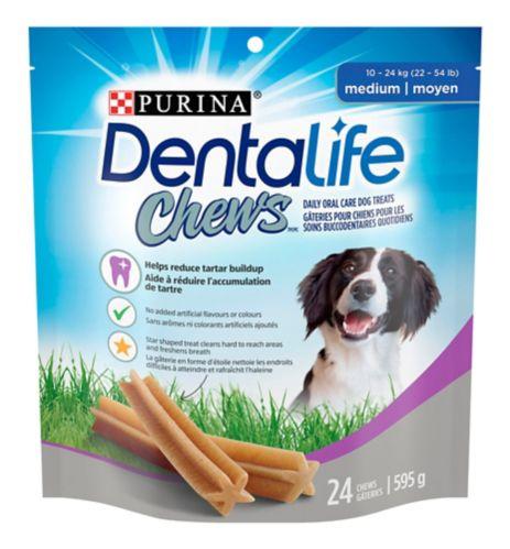 Dentalife ChewsDaily Dental Medium Dog Treat, 595-g Product image