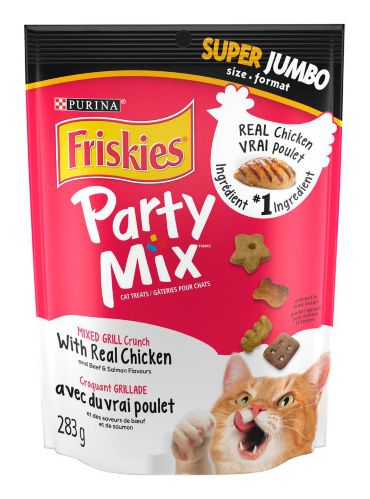 Friskies Party Mix Grilled Cat Treats, 283-g Product image