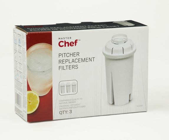 MASTER Chef Replacement Filter, 3-pk