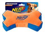 Nerf Crunch & Squeak Plush Bone Dog Toy | NERFnull