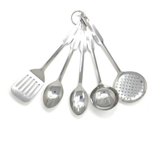 Ustensiles en acier inoxydable MASTER Chef, 5 pces Image de l'article
