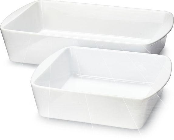MASTER Chef Ceramic Bakeware Set, White, 2-pc Product image