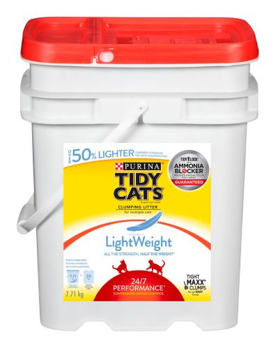 Purina Tidy Cats Lightweight 24/7 Performance Cat Litter, 7.7-kg Product image