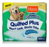 Hartz Home Protection Quilted Dog Training Pads, 50-ct | Hartznull