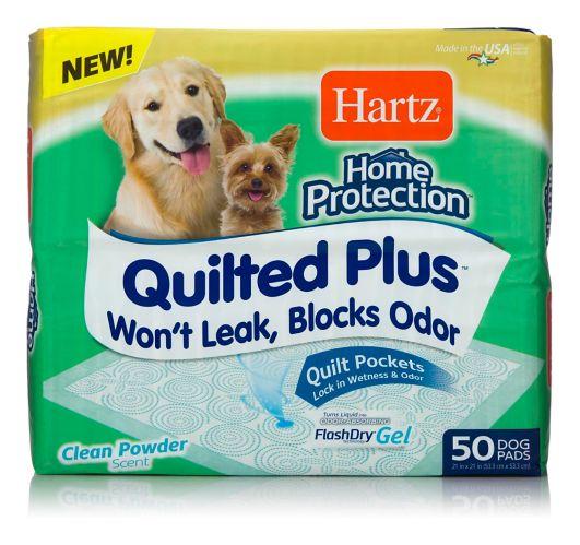 Tapis d'éducation de propreté matelassé pour les chiens Hartz Home Protection, paq. 50 Image de l'article