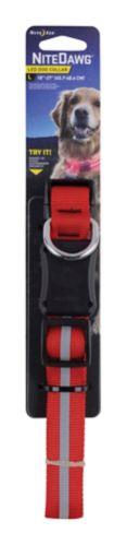 NiteDawg High-Visibility LED Dog Collar, Large