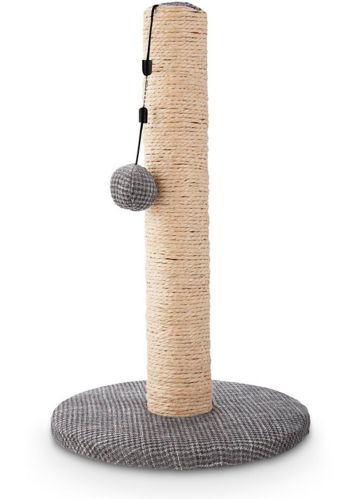 Petco Sisal Cat Scratching Post, Grey, 19-in Product image