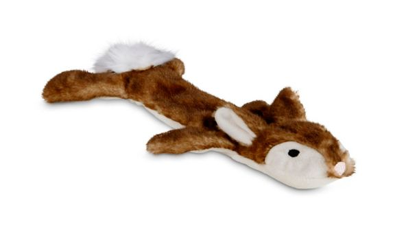 Petco Unstuffed Plush Rabbit Dog Toy, Small Product image