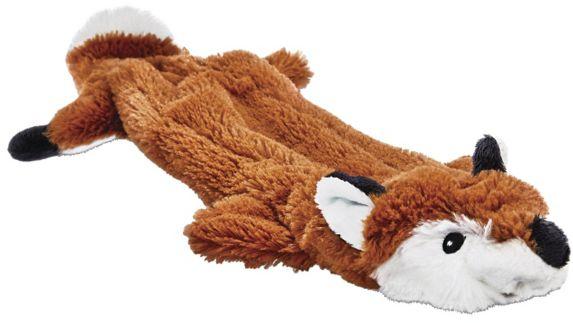 Petco Unstuffed Plush Fox Dog Toy, Large