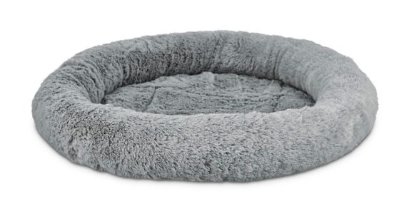 Petco Harmony Oval Cat Bed, Grey, 17-in x 14-in Product image