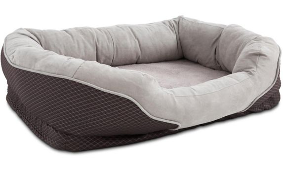 Petco Orthopedic Peaceful Nester Dog Bed, Grey, 40-in x 30-in Product image
