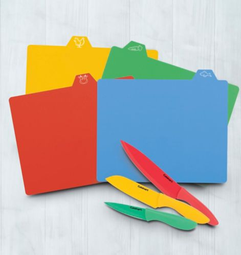 Cuisinart Knife & Cutting Mat Set, 10-pc Product image