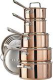 Batterie de cuisine PADERNO cuivrée, série canadienne, 12 pces | Padernonull