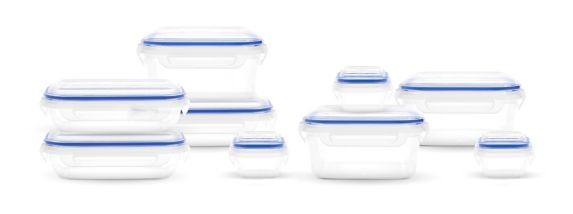 SnapLock Food Storage Container Set, 18-pc