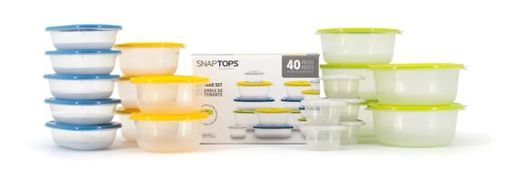 SnapTop Food Storage Container Set, 40-pc Product image