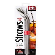 Joie Stainless Steel Straw Set, 8-pc
