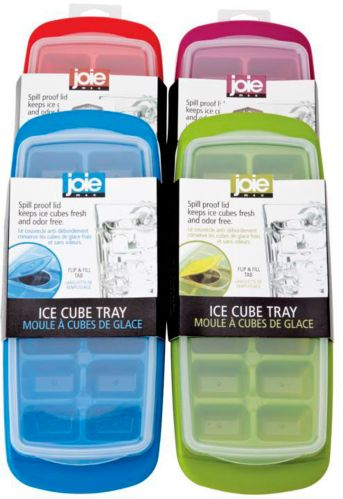 Joie No-Spill Ice Cube Tray, Assorted