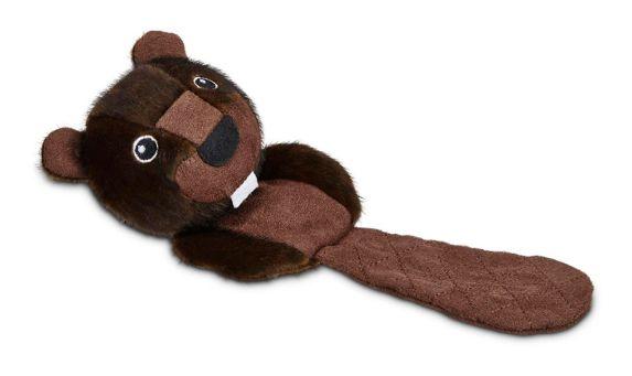 Petco Wildlife Flattie Plush Dog Toy, Small