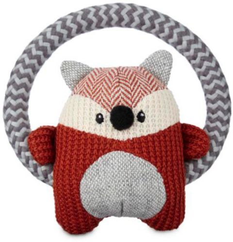 Petco Ring Fox Plush Dog Toy, Small Product image
