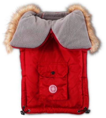 Parka à capuchon pour chiens Petco, rouge Image de l'article