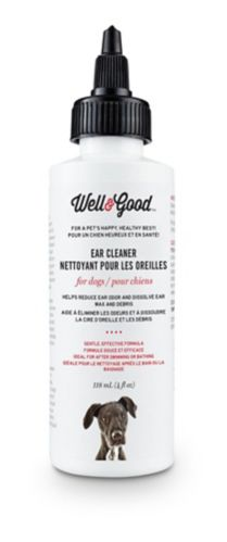 Well & Good Dog Ear Cleaner, 4-oz Product image
