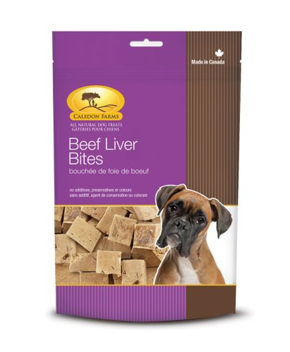 Caledon Farms Beef Liver Bites, 68-g Product image