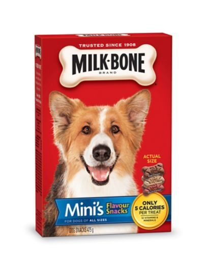 Milk Bone Minis Flavour Snacks Dog Treats