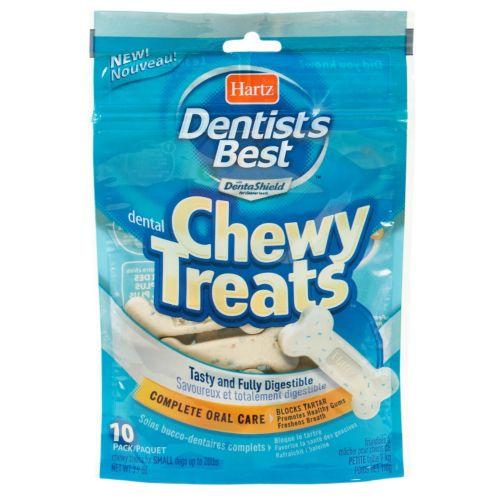 Gâteries à mâchouiller Hartz Dentists Best, paq. 10