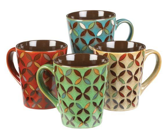 Mug Set, Assorted, 4-pk Product image
