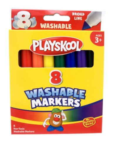 Playskool Washable Jumbo Markers, 8-pk Product image