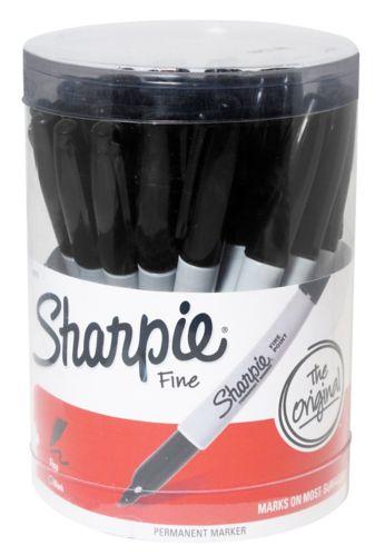 Sharpie Fine Point Permanent Marker, Black
