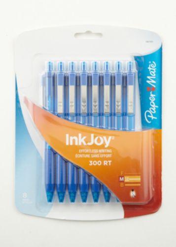Stylos-bille Paper Mate InkJoy 300 RT, moyen, bleu, paq. 8 Image de l'article