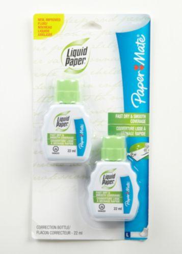 Correcteurs liquides Paper Mate, paq. 2 Image de l'article