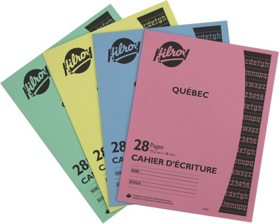 Hilroy Quebec Cahier D'Ecriture Product image