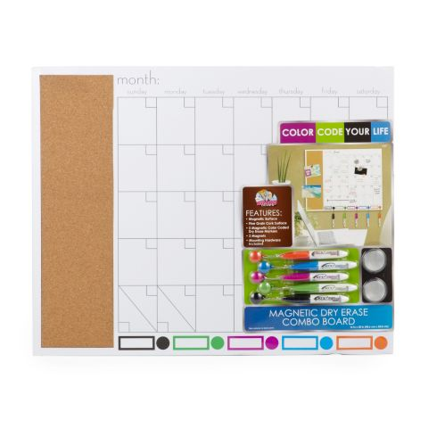Magnetic Dry Erase Combo Board Product image