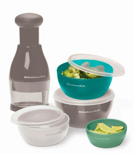 KitchenAid Food Chopper & Prep Bowl Set, 5-pc Product image