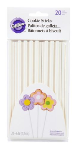 Wilton Cookie Sticks, 6-in, 20-pk Product image