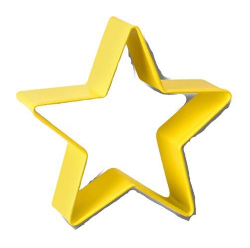 Emporte-pièce Wilton en forme d'étoile, métal, 3 po, jaune Image de l'article