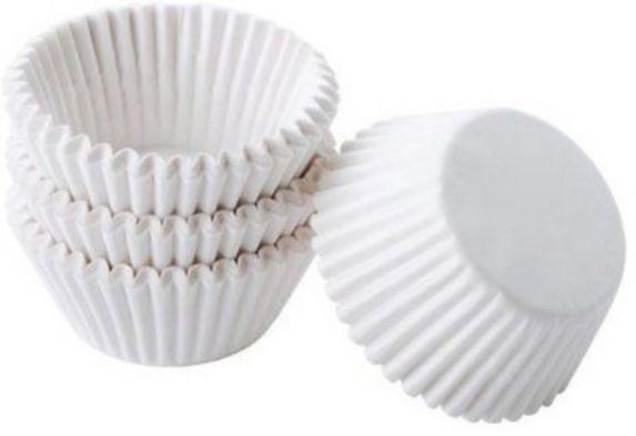 Wilton Mini Baking Cups, White, 100-pk Product image