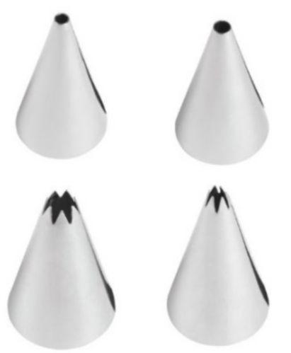 Douilles rondes et étoilées Wilton, petit, 4 pièces Image de l'article