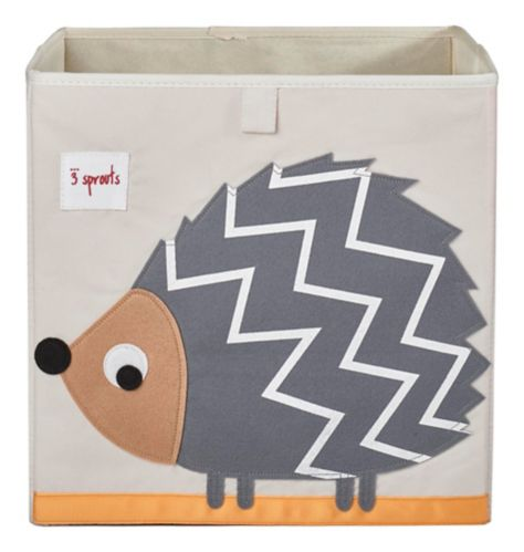 3 Sprouts Kids' Storage Box, Hedgehog Product image