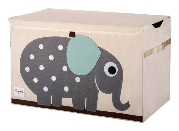 3 Sprouts Kids' Toy Chest, Elephant