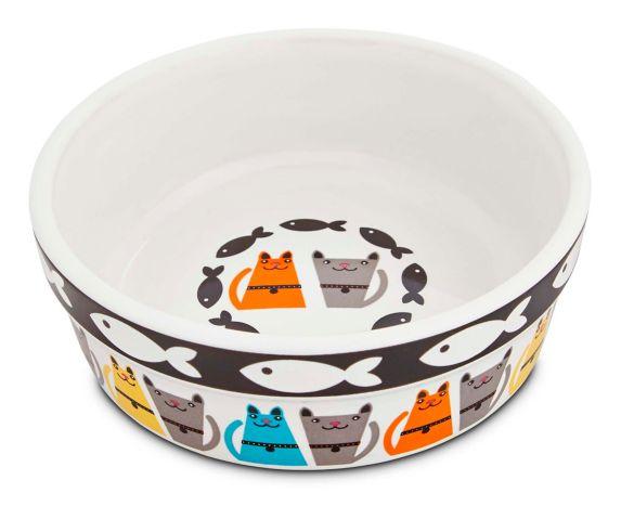Petco Ceramic Cat Bowl, 1-Cup Product image