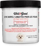 Well & Good Dog Eye Wipes, 100-ct | Well & Goodnull