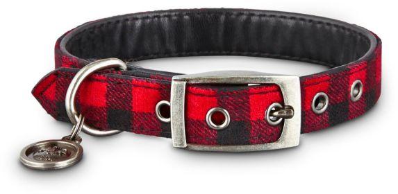 Petco Buffalo Check Dog Collar, Small Product image