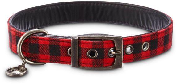 Petco Buffalo Check Dog Collar, Large Product image